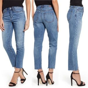 BLANK NYC The Madison Straight Leg Crop Jeans